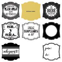 Label love clear bundle